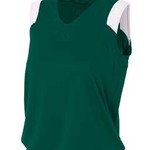 Women's V-Neck Muscle Tee